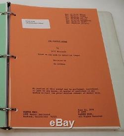 The Perfect Storm 1999 Original Movie Script with Schedules George Clooney
