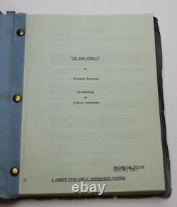 The Sand Pebbles / Robert Anderson 1964 Movie Script Screenplay, STEVE McQUEEN