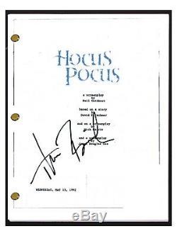 Thora Birch Signed Autographed HOCUS POCUS Full Movie Script Screenplay COA