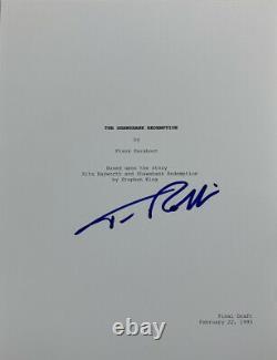 Tim Robbins Hand Signed Movie Script The Shawshank Redemption Rare Authentic