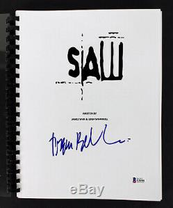 Tobin Bell Authentic Signed Saw Movie Script Autographed BAS #G56981