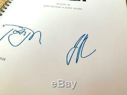 Todd Phillips & Joaquin Phoenix JOKER Signed Full Film Script, Autograph COA