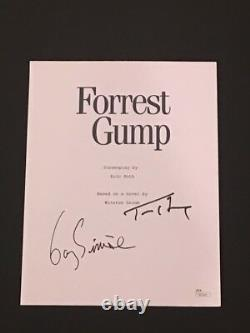 Tom Hanks Gary Sinise Signed Forrest Gump Full Movie Script Autographed