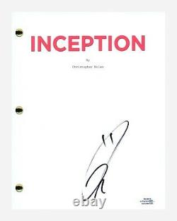 Tom Hardy Signed Autographed INCEPTION Movie Script Screenplay ACOA COA