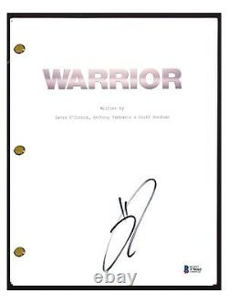 Tom Hardy Signed Autographed WARRIOR Movie Script Beckett BAS COA