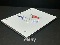 Tommy Chong And Cheech Marin Signed'Cars' Movie Script Disney PSA AE99779