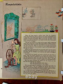 Tony Sargs Magic Movie Book, 1943, Complete with Both 3-D Glasses, Movable Book