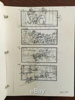 True Lies Arnold Schwarzenegger 1993 Original Movie Storyboards Script 300+ pgs