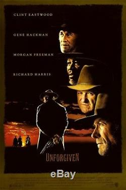 UNFORGIVEN / David Webb Peoples, Rare Working Title 1985 Movie Script Screenplay