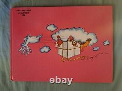VERY RARE! ENGLISH LANGUAGE BARBAPAPA BOOK BARBAPAPA'S CHRISTMAS Hardback