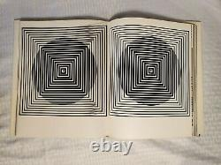 Vasarely Plastic Arts of the 20th Century BOOK with 5 Plastic B&W Films 1965