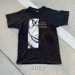 Vintage The Crow Comic Book Series Promo T-Shirt J. O'Barr Black Movie Size L