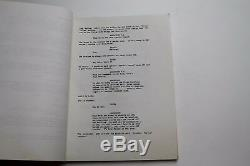 Viper 1988 Movie Script starring James Tolkan, from Back to the Future Films