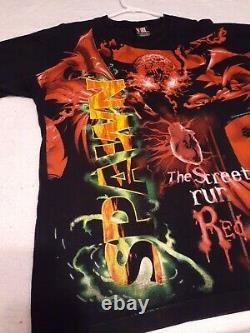 Vtg 1997 todd mcfarlane original spawn comic book tee t shirt movie t. V. Sz L