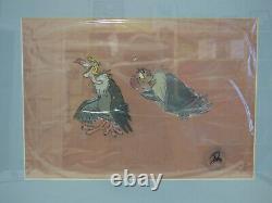 Vultures from The Jungle Book - Framed Signed Disney 1967 Movie Cel