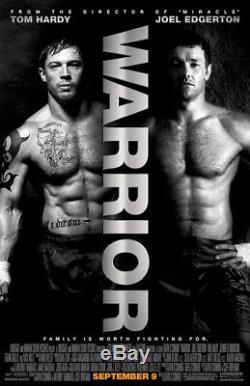 WARRIOR / Gavin O'Connor 2009 Screenplay, Tom Hardy & Joel Edgerton, MMA film