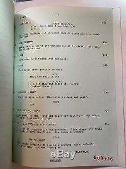 WEIRD SCIENCE / John Hughes 1984 Original Movie Script Screenplay