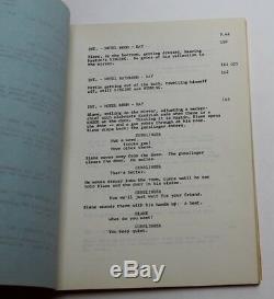 WESTWORLD / Michael Crichton 1973 Movie Script Screenplay, Sci Fi Thriller