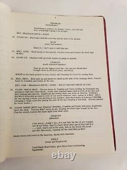 WHEELS OF HORROR / Patrick G. Donahue, 1977 Unproduced Movie Script Screenplay