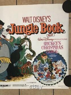 Walt Disney Jungle Book (1978 ReRelease) Original UK Movie Quad
