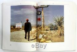 Wim Wenders Sam Shepard Paris Texas Film Stills Photographs Original 1984 Book