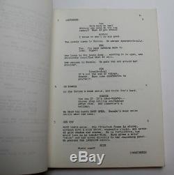 Zuma Beach / John Carpenter, early career, 1978 TV Movie Script Screenplay